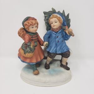 Avon | Vintage First Edition Christmas Figurine